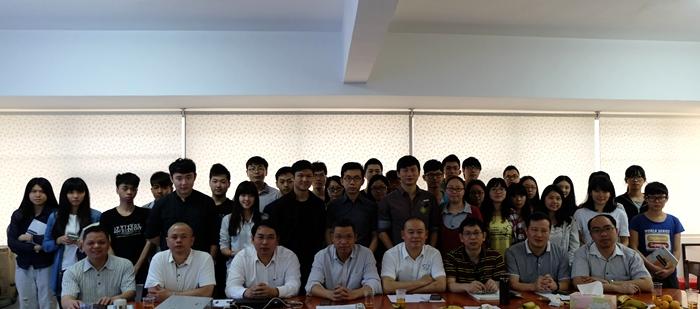 """广州市动物诊疗行业协会""""科贸讲师团""""代表严国平"""
